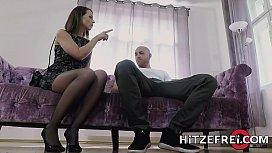 HITZEFREI German MILF Caroline Ardolino gets a big dick