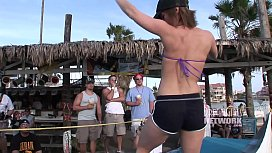 Spring Break Bikini Contest Goes Out Of Control xxx video