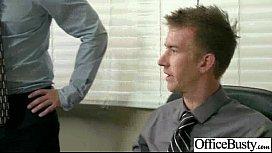 Big Melon Tits Worker Girl Fucks In Office clip-20