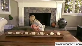 (ashley) Alone Superb Horny Girl Enjoy Sex Things As Toys clip-03