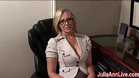 Milf Julia Ann Dreams About Sucking Cock! mompov bonus