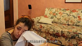 Anal Rimming and disgusting FORCED FACIAL for italian sub GF !