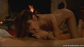 Beautiful Erotic Fellatio From Indian MILF