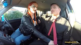 Busty woman loves boning with instructor