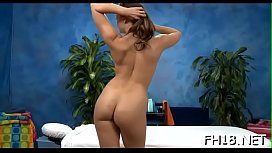 Cute and hawt drilled hard by her massage therapist