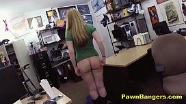 Big Tits Blonde Slut Blows And Bangs Huge Cock