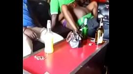 Kenyans Fucking in a Dance club