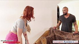 Redhead gi iend Siri gets slit licked and fucked