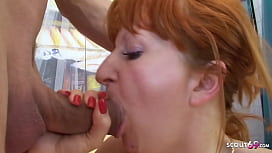Hairy Ginger Mature Mom Seduce Step s. to Fuck her Rough