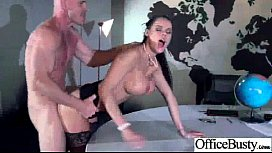 Hardcore Sex In Office With Hot Lovely Busty Girl peta jensen video