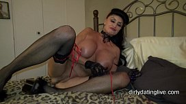 Granny goes Black-Potty-mouth White GILF takes 3-way BBC fuck of her life xnxx image