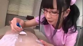 Japanese Nurse Licking Nipple &amp_ Handjob 1 - Full video: http://ouo.io/HlJLYy