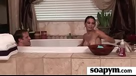AMAZING body in a hot soapy massage 24