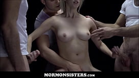 id 36393521: Mormon Sister Cadence Lux Takes Seed From Three Church Men To See Who The Father Will Be
