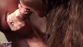Hot MILF Passionate Blowjob Dick Lover and Hardcore Sex - Real Orgasm