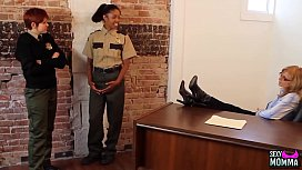 SEXYMOMMA - Ebony prison guard strapon fucked in the ass xvideos preview