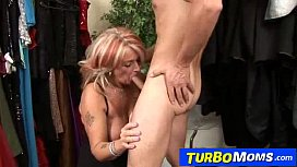 Hungarian gilf Judit fucked by horny stud