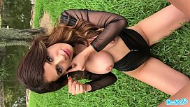 CAMSODA - LESBIAN BIG BUSH MILF PUBLIC SEX AND PUSSY EATING