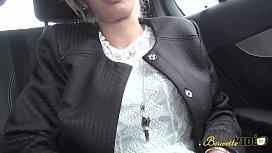 Zhelia cougar blonde encul&eacute_e sur le chemin des vacances