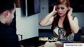Red head girl banged by married couple