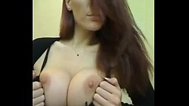 Hot Brunette Exposed on Cam More Videos at camgi om