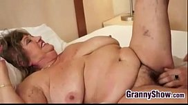 Big Grandma And Her Younger Lover Fucking xxx video