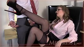 Testing New Office Fucktoy - Mistress T xxx video