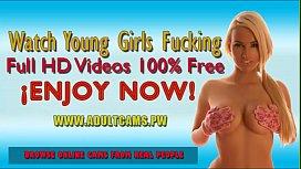Hot and Sexy Teen Anal Masturbating