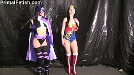 Mental Domination of Huntress &amp_ Wonder Woman: Part 1