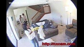 Hidden Cam Captures Maid And Wife In Secret Lesbian Affair