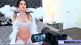 Hot Busty Mommy (Jessica Jaymes) Love Hard Sex In Front Of Camera vid-28