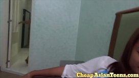 Laiza and Angel entertain a Euroean sex tourist in Manila - CheapAsianTeens.com