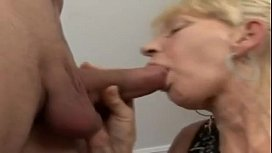 German Blonde Granny