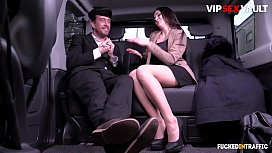 VIP SEX VAULT - German Teen Lullu Gun Blows And Rides Big Cock On The Van