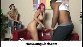 Mommy rides black dong 17