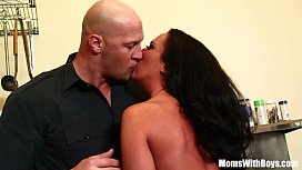 Busty Housewife Richelle Ryan Kitchen Sex With Husband