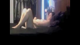 Mom masturbating with new toy caught by hidden cam