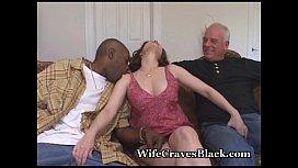 Horny Wife Fucks Black For Hubby