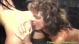 Two lesbians talking and having sex