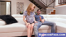 Hannah Hays proved she is a grown girl with a nice blowjob