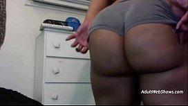 Fat ebony with purple hair - AdultWebShows.com