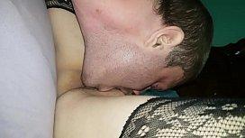 Hot wife seducing her husband