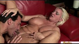Mature blonde MILF has a filthy mind stickam captures