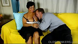 Chubby black mature babe is such a hot fuck ariel rebel anal