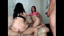 Anal con dos amigas venezolanas