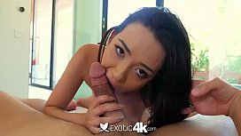 Exotic4k Moaning petite mix cutie Kiley Jay fucked and facialed