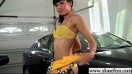 Alone Horny Girl Love Sex Toys For Masturbation clip-15
