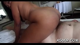 Kinky asian girl with adorable body curves plays sexy games xxx video
