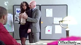 Superb Woker Girl Stephani Moretti With Big Tits Get Hard Sex In Office Clip-30