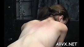 Top notch amateur bondage sex scenes with worthy beauty